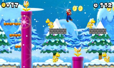 """This video game image released by Nintendo shows a scene from """"New Super Mario Bros. 2."""" (AP Photo/Nintendo)"""