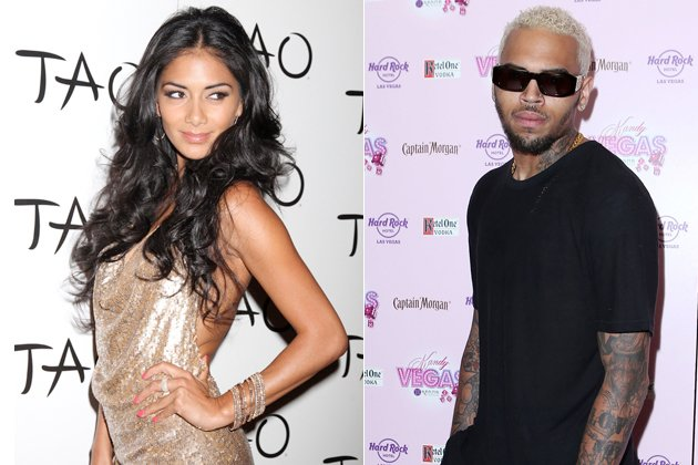 Nicole Scherzinger und Chris Brown sollen auf einer Party geknutscht haben! (Bilder: ddp images, WENN)