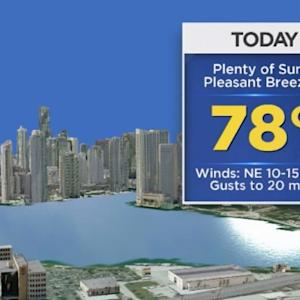 CBSMiami Weather @ Your Desk - 12/18/13 9:00 a.m.