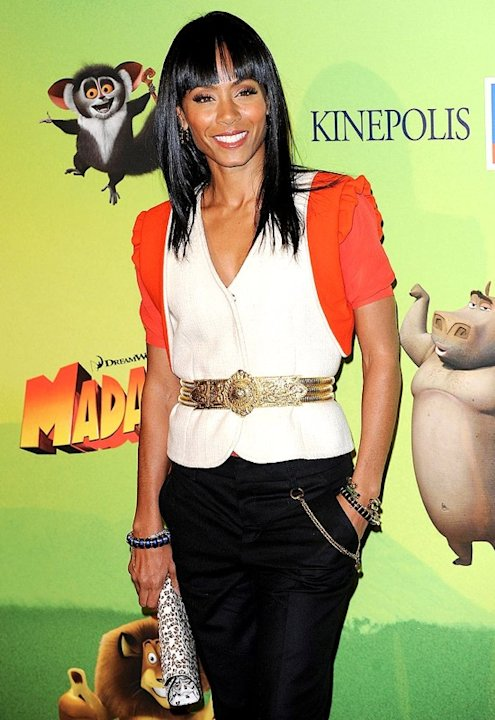 Jada Pinkett Smith attends 'Madagascar 2' Madrid premiere at Kinepolis Cinema on November 25, 2008 in Madrid, Spain. Jada Smith