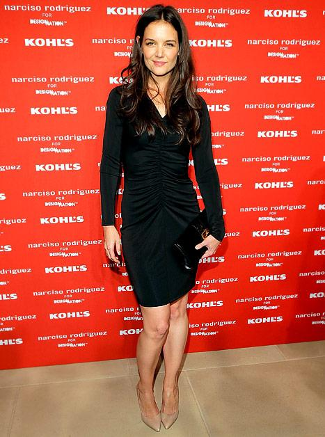PICTURE: Katie Holmes Rocks Form-Fitting LBD at Kohl's Party