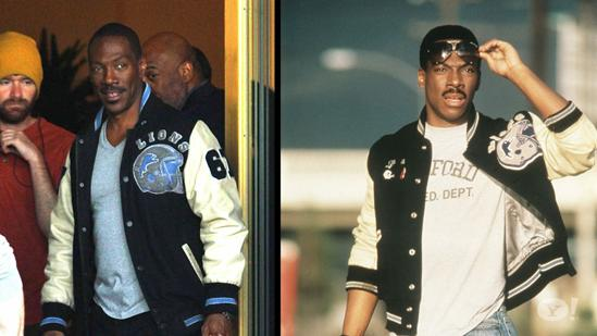 Eddie Murphy Back In Iconic Jacket