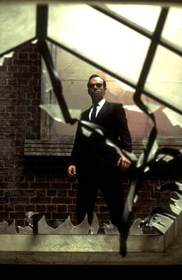 Agent Smith ( Hugo Weaving ) in Warner Brothers' The Matrix: Reloaded