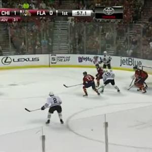 Blackhawks at Panthers / Game Highlights
