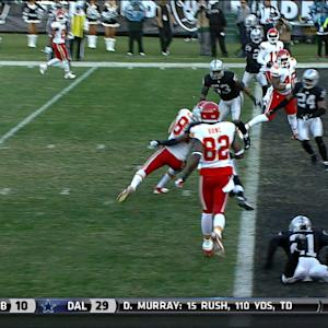 Kansas City Chiefs tight end Seth McGrath 6-yard touchdown