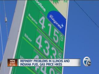 Sky high gas prices in Michigan