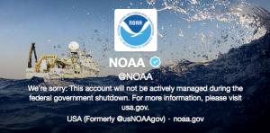 Twitter Abuzz with #Shutdown's Effects on Science