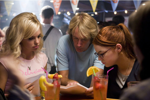 Anna Faris Director Fred Wolf Emma Stone The House Bunny Production Stills Columbia 2008