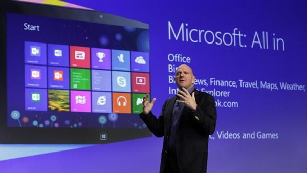 Windows 8 launch a subdued affair