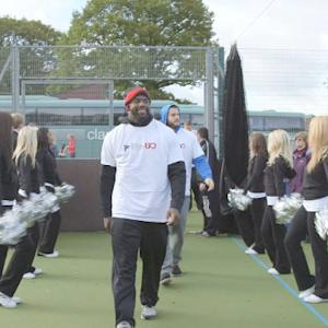 Atlanta Falcons host community day in London