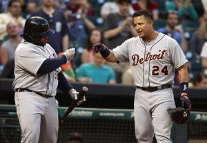 Cabrera's 6 RBIs lead Tigers' 17-2 rout of Astros