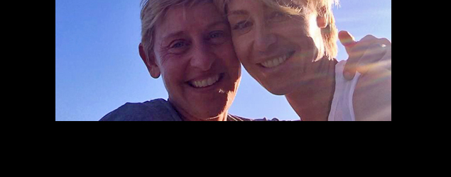 Ellen DeGeneres and Portia di Rossi celebrate their 6th wedding anniversary. (Twitter)