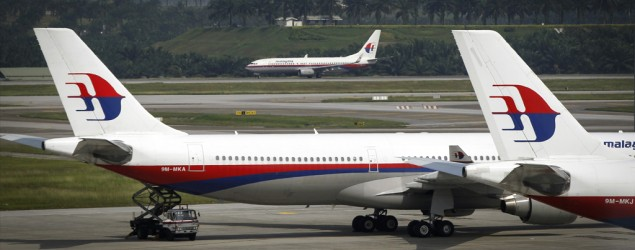 MAS airplane (AP)