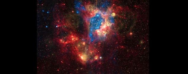 magen cedida por la NASA muestra a un pequeño satélite en la Vía Láctea, ubicada a unos 160.000 años luz de la Tierra. (NASA/AFP/Archivos)