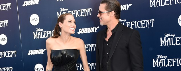 Angelina Jolie, Brad Pitt secretly wed. (Jason Merritt/Getty Images)