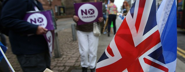 Scotland rejects independence from U.K. (AP)