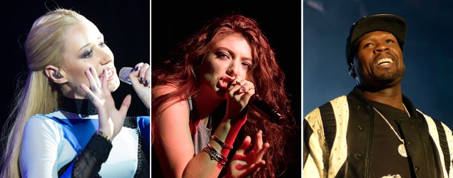 Lorde, 50 Cent, and Iggy Azalea will perform at the iHeartRadio Music Festival. (Wire Image)