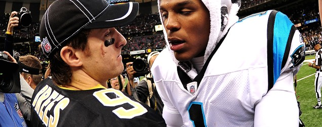Watch live: Saints and Panthers on NBC's Sunday Night Football (Getty Images)