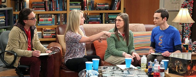 Los actores de Big Bang Theory, de calle
