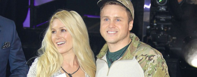 Heidi Montag and Spencer Pratt in London (AP)