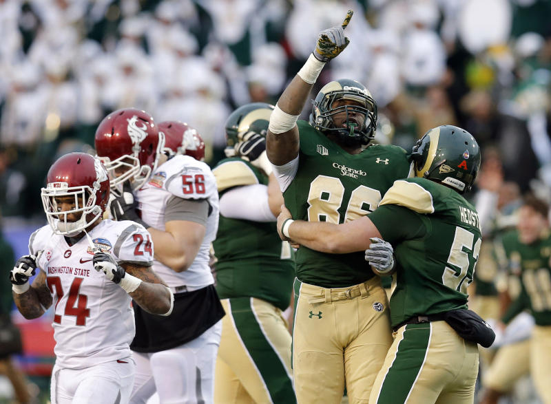 Colorado State shocks Washington State, 48-45