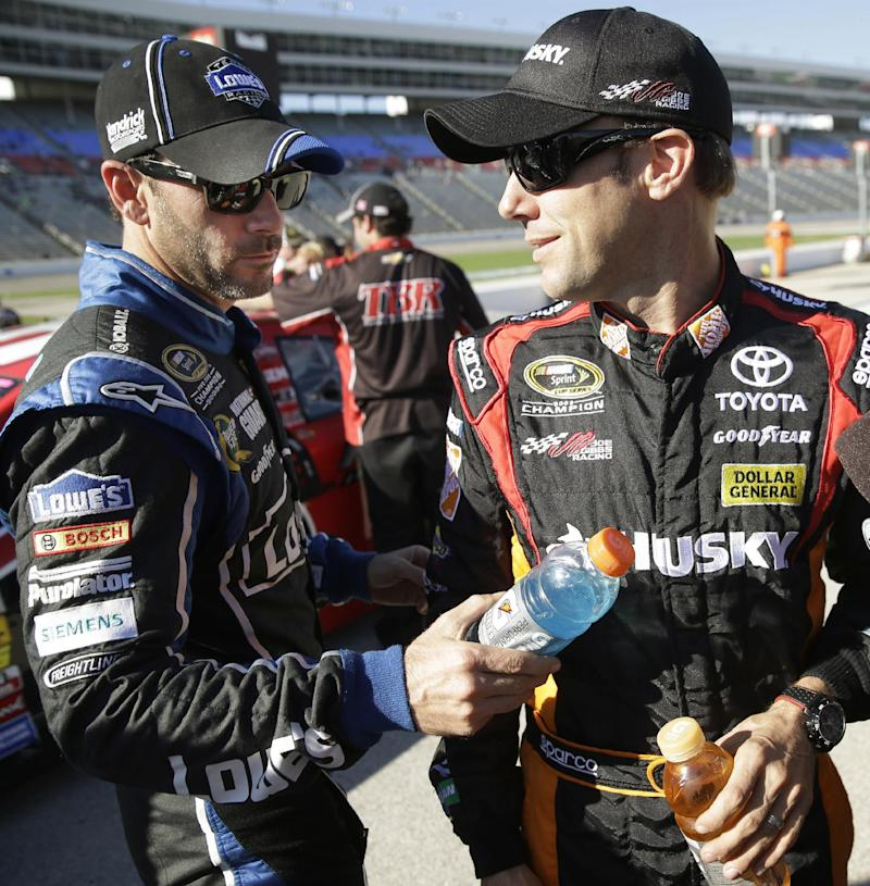 Kenseth, Johnson best at Texas in deadlocked Chase