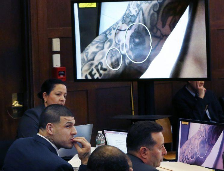 Tattoo artist testifies in Aaron Hernandez double-murder trial