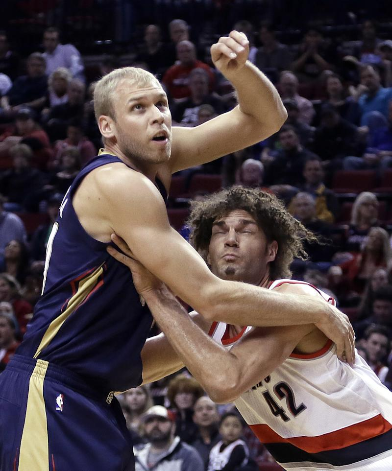Aldridge, Blazers top Pelicans to clinch playoffs