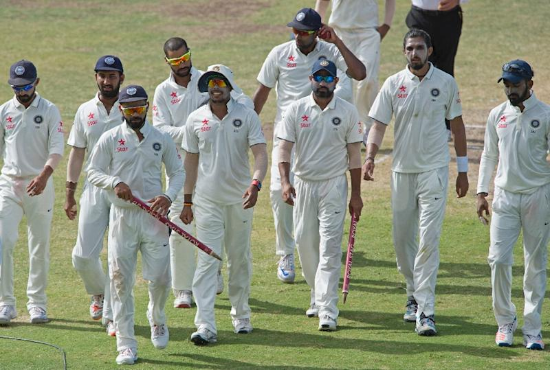 Blackcaps toil as India make strong start to first Test