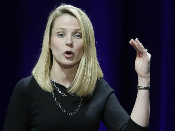Marissa Mayer will give up annual equity, bonus due to security breaches