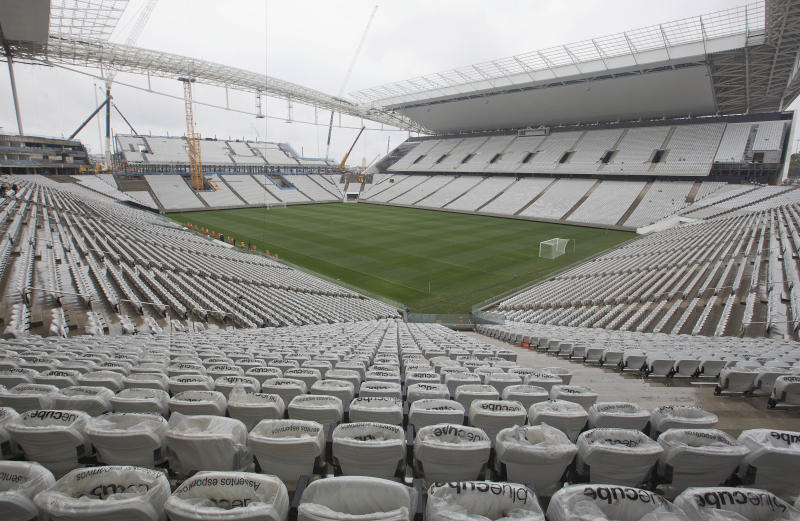 Tests games scheduled at stadium of WCup opener