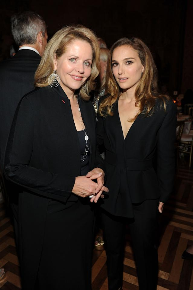 NEW YORK, NY - SEPTEMBER 09: Renee Fleming and Natalie Portman attend a private reception hosted by Vacheron Constantin and AFPOB to Honor Benjamin Millepied's appointment as Director of the Paris Opera Ballet on September 9, 2013 in New York City. (Photo by Craig Barritt/Getty Images for Vacheron Constantin)