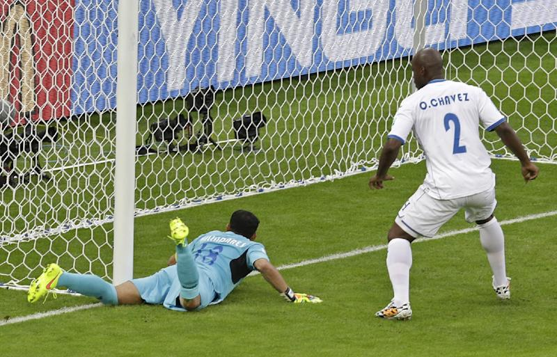 France benefits from first key use of goal tech