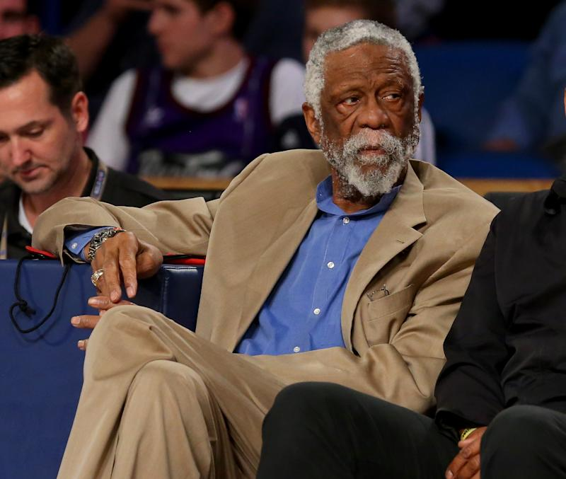 NBA's Bill Russell collapses during Tahoe speech