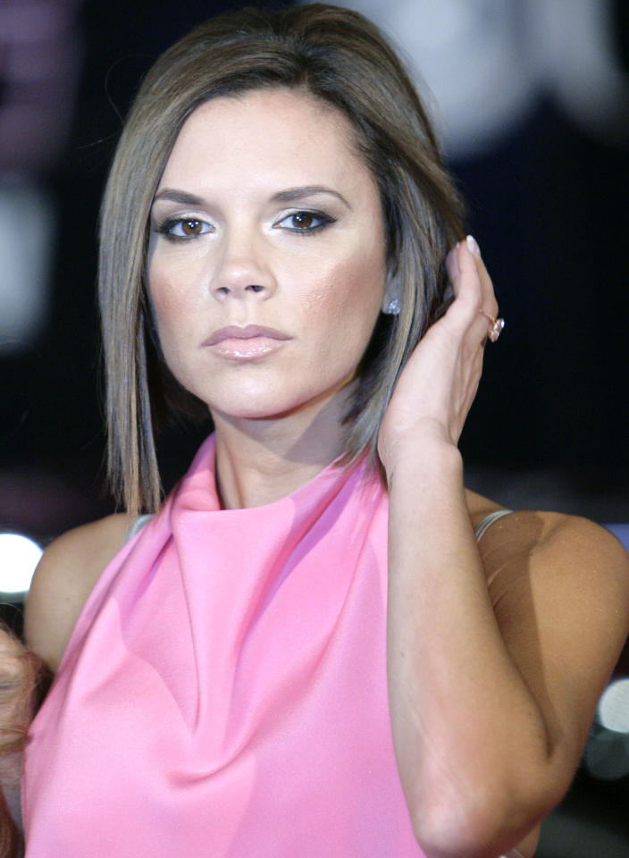 Victoria Beckham, model/singer and wife of British soccer superstar David Beckham (Matt Sayles/Associated Press)