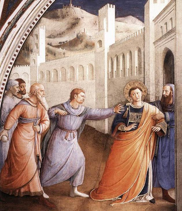 The capture of St Stephen