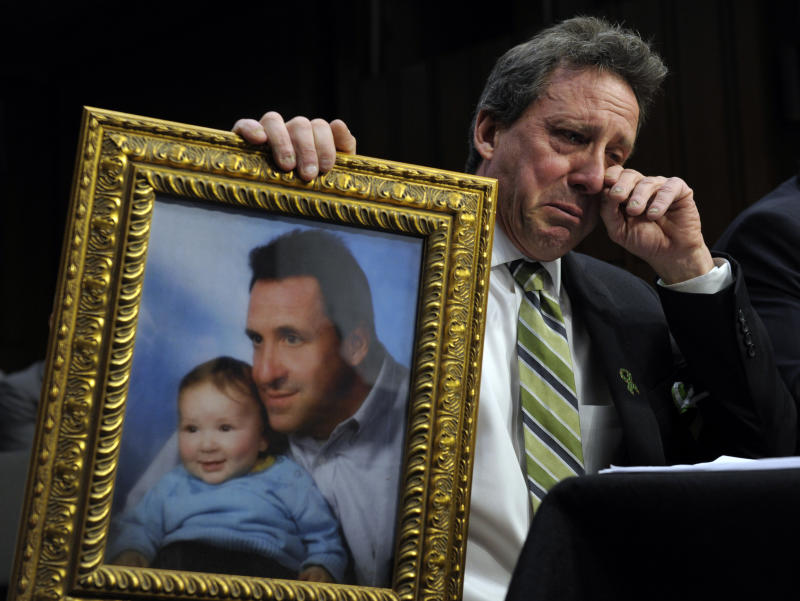 Father of Newtown victim: Ban assault weapons