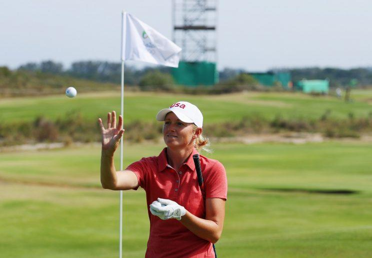 Park In-bee Wins Gold at Women's Golf in Rio