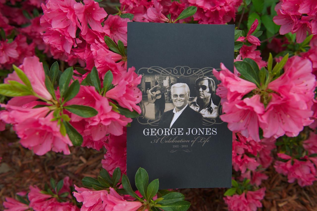 NASHVILLE, TN - MAY 02:  Atmosphere at the funeral service for George Jones at The Grand Ole Opry on May 2, 2013 in Nashville, Tennessee. Jones passed away on April 26, 2013 at the age of 81.  (Photo by Jason Davis/Getty Images)