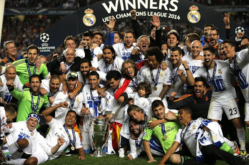 Thousands celebrate Real's Champions League title