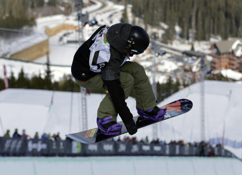 Halfpipe surprise: White finishes second
