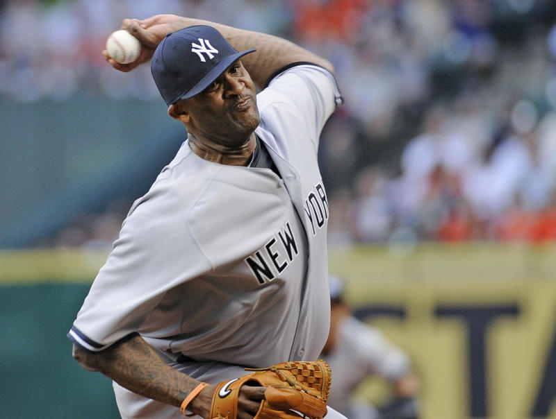 Yankees' Sabathia (knee) expects to pitch in 2015