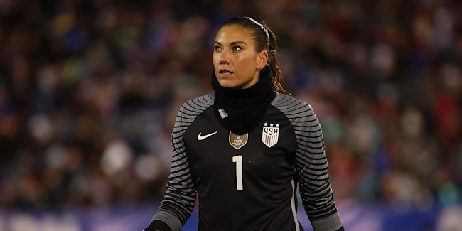 Hope Solo Suspended from the US Women's National Team for Six Months
