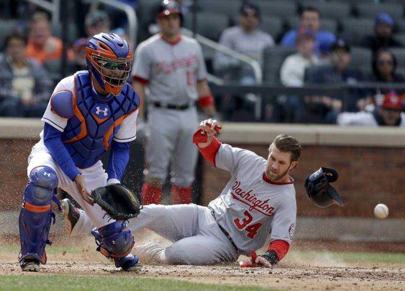 Nationals open at home facing NL East rival Braves