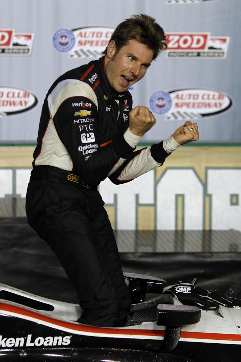 Power proves he can win on IndyCar ovals