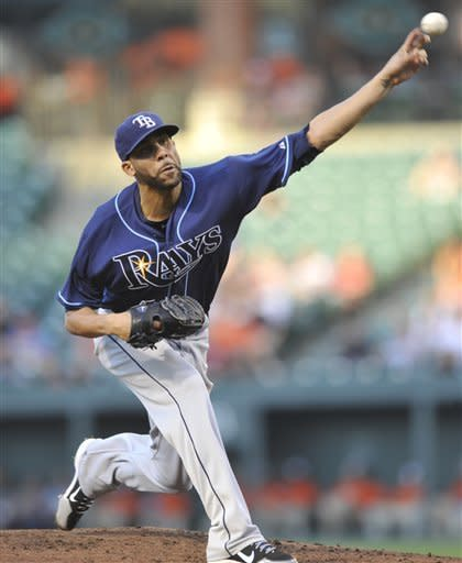 Price wins 14th as Rays beat Orioles 10-1