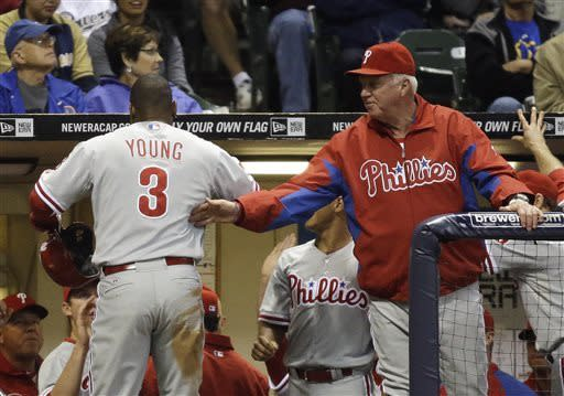 Phillies move above .500 with 5-1 win over Brewers