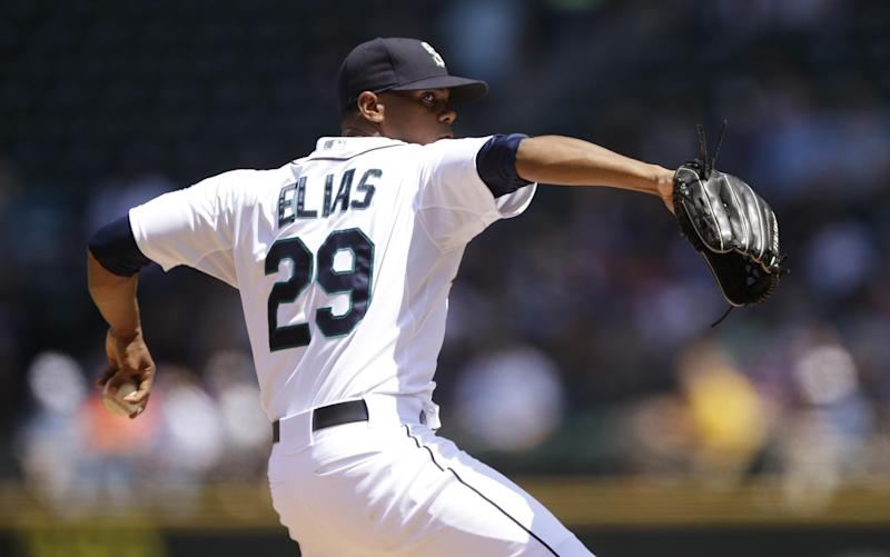 Elias pitches 3-hitter, Mariners top Tigers 4-0