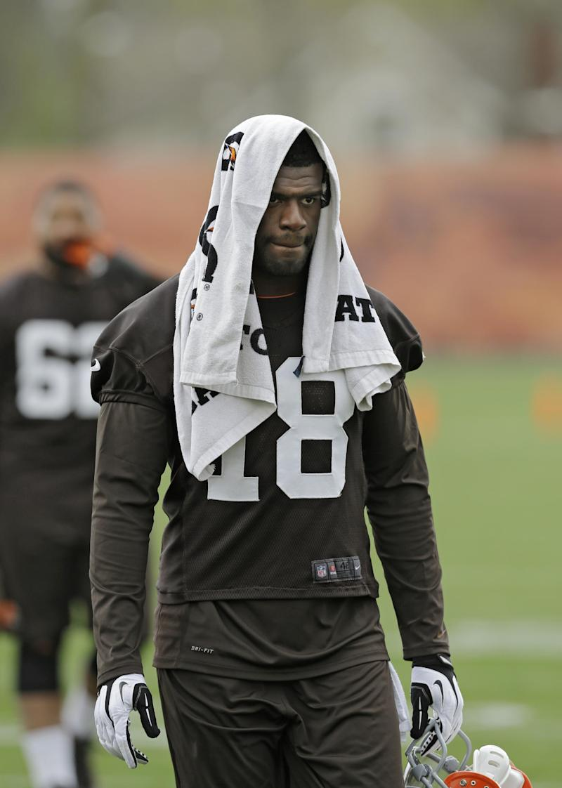 Browns release inconsistent WR Greg Little