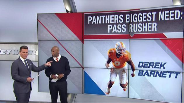 Panthers' biggest need and pick in NFL draft